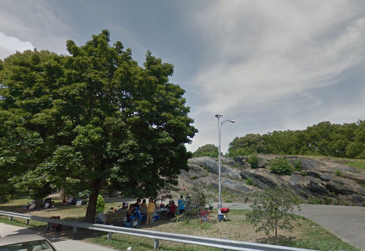 """St. Mary's Park in the Bronx, one of Mayor de Blasio's five """"Anchor Parks"""""""