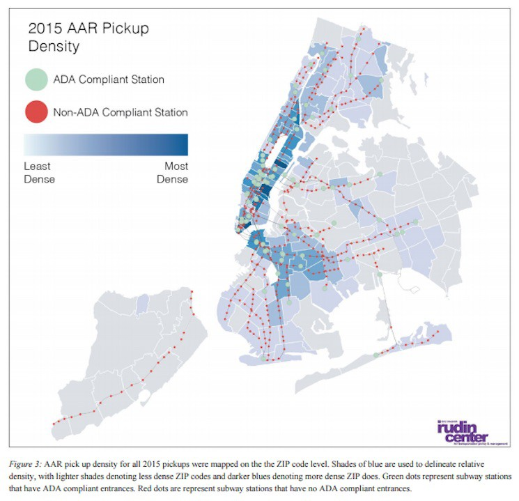 Nyc Subway Map Disabled Access.Access A Ride Costs Exploding Because There Aren T Enough Subway