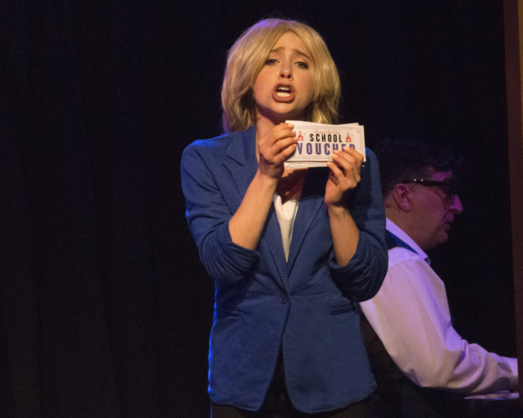 """Satiric Trump Revue """"Me the People"""" Puts the Eff You in """"Fun"""" 