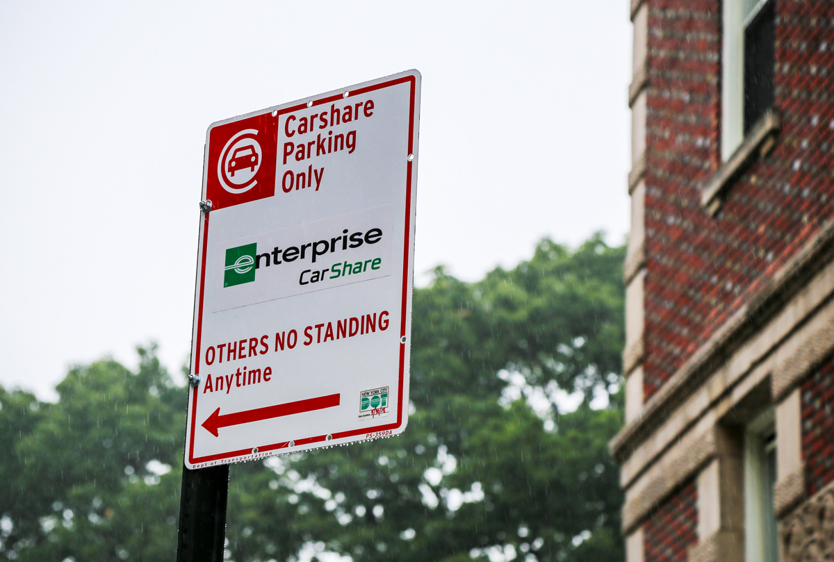 Enterprise Car Share Number >> Yes Those Are Zipcar And Enterprise Logos On Parking Signs