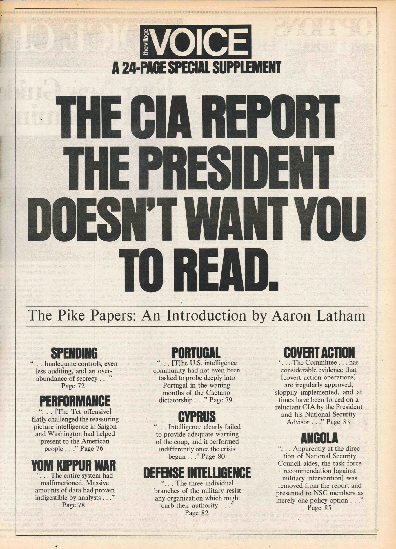 The CIA Report the President Doesn't Want You to Read | The