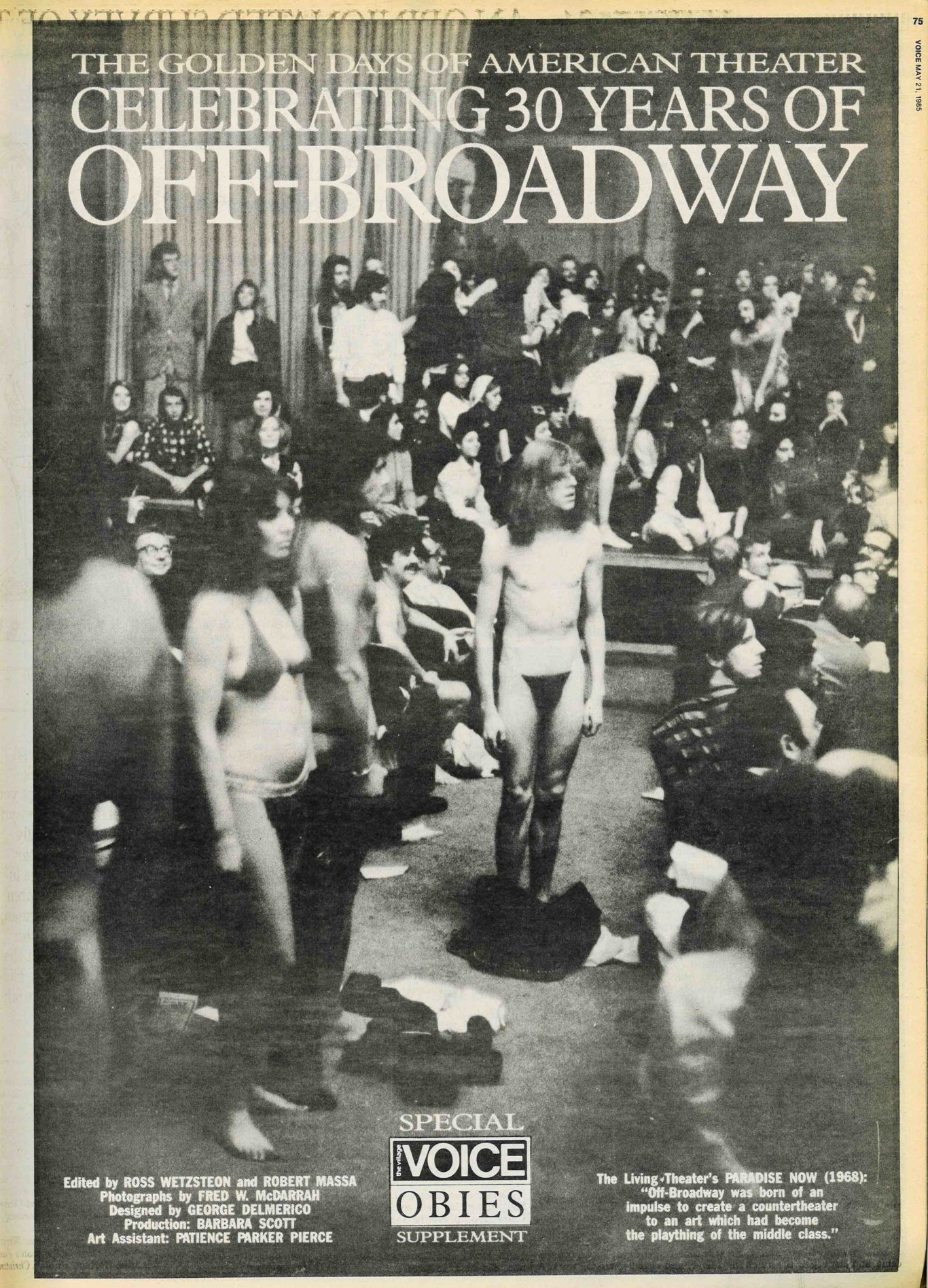 A Brief History of Off-Broadway, 1955–1985