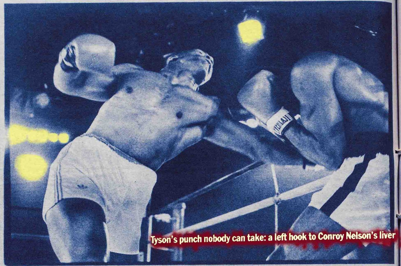 Jack Newfield's Village Voice writes about Mike Tyson as a rising star