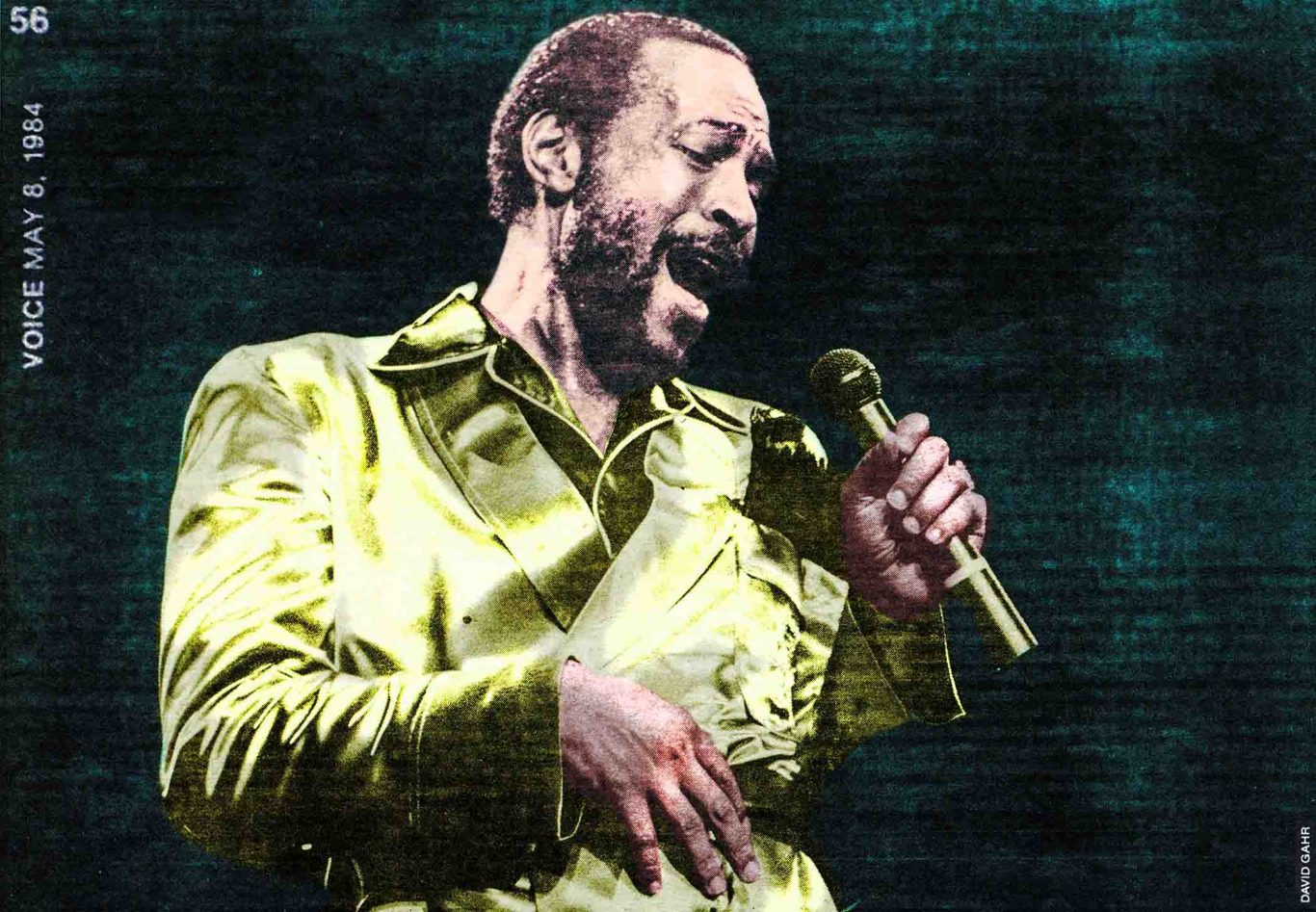 1984 Village Voice article by Nelson George about Marvin Gaye