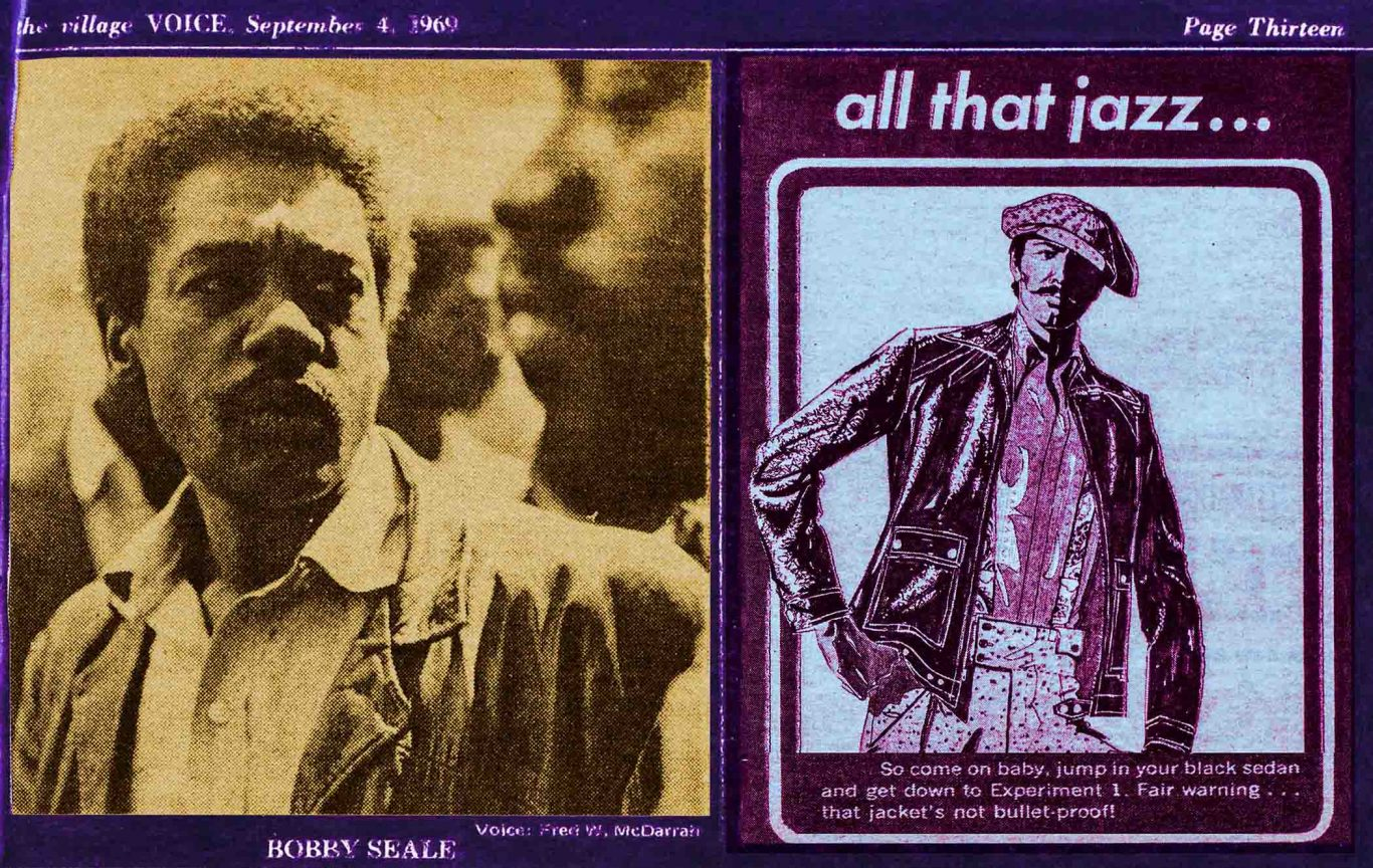 1969 Village Voice article about Bobby Seale and Chicago 8 -Chicago 7 trial by Jonathan Black