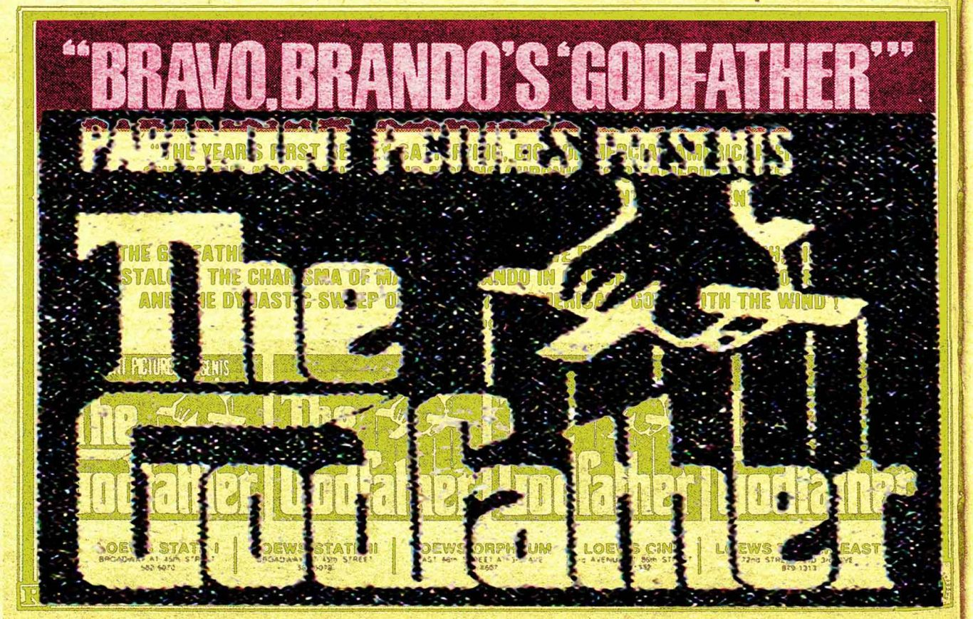 1972 review of The Godfather by Andrew Sarris