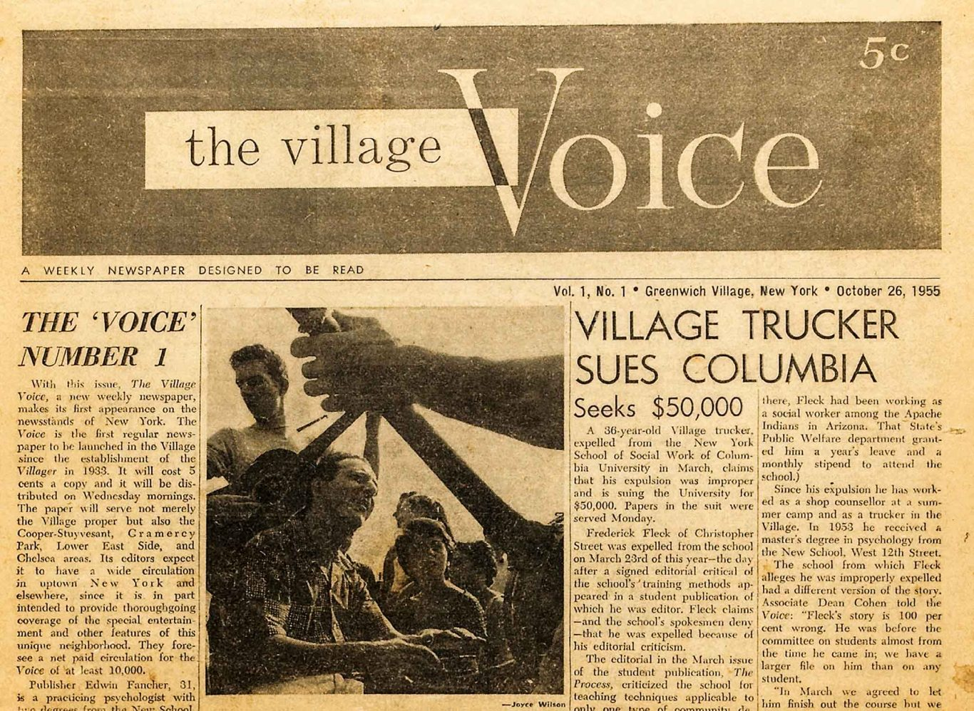 Article about reviving the Village Voice in 2021