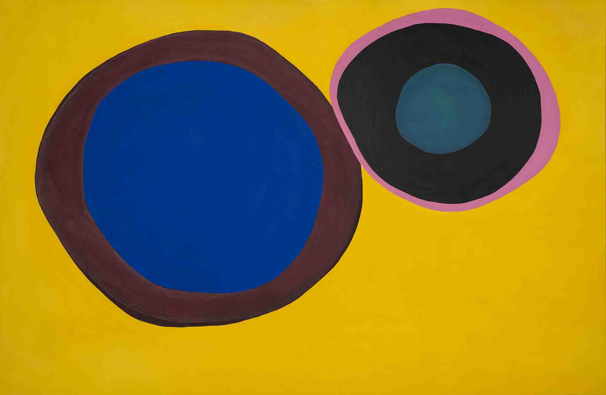 From Russia With Passion — Jules Olitski's Rollicking '60s Paintings   The Village Voice