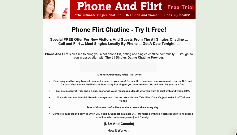 Free phone dating and singles line irish dating