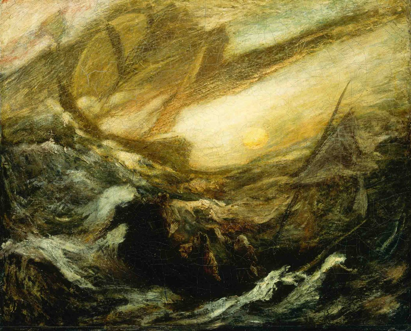 Albert Pinkham Ryder exhibit at the New Bedford Whaling Museum