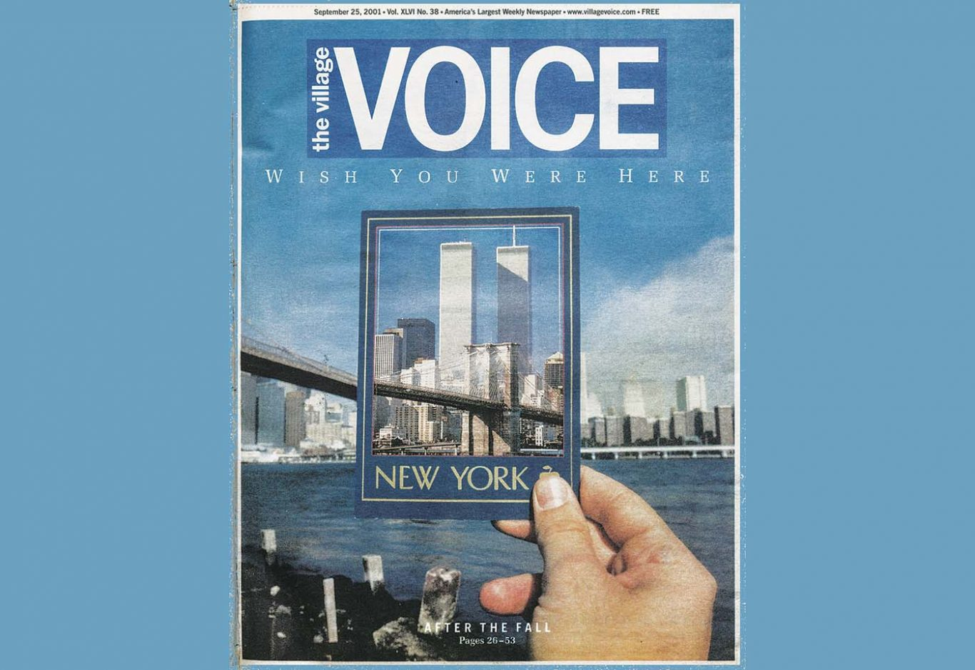 Alisa Solomon wrote an eye-witness account of the 9/11 attacks for the Village Voice